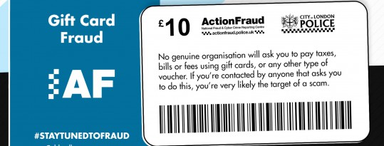 Protect yourself from gift card fraudsters